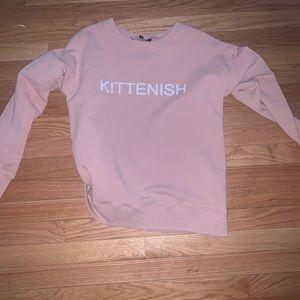 KITTENISH SWEATSHIRT